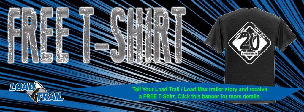 Free t-shirt web banner
