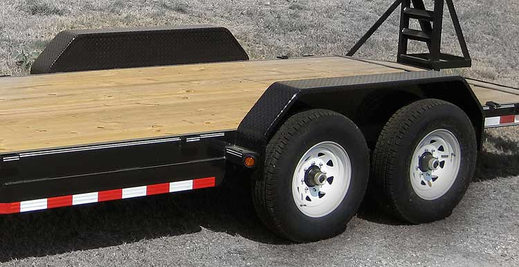 Tandem Axle Trailer Fenders : Details load trail llc