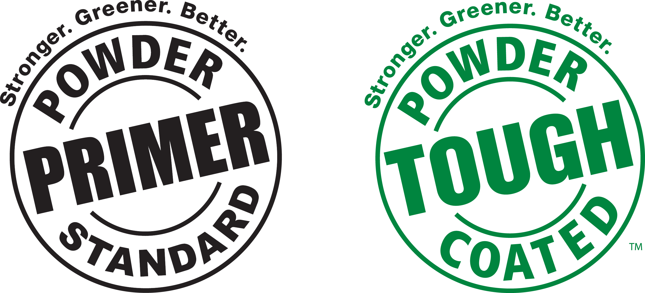 Powder Tough Coated - Stronger. Greener. Better